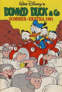 Cover Thumbnail for Donald Duck & Co Ekstra [Bilag til Donald Duck & Co] (Hjemmet / Egmont, 1985 series) #sommer 1991