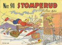Cover Thumbnail for Nr. 91 Stomperud (Ernst G. Mortensen, 1938 series) #1960