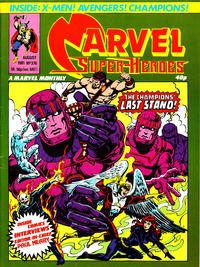 Cover Thumbnail for Marvel Superheroes [Marvel Super-Heroes] (Marvel UK, 1979 series) #376