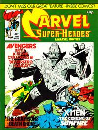 Cover Thumbnail for Marvel Superheroes [Marvel Super-Heroes] (Marvel UK, 1979 series) #375