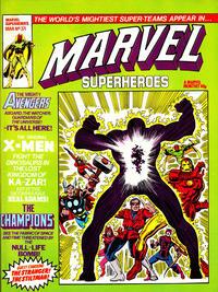 Cover Thumbnail for Marvel Superheroes [Marvel Super-Heroes] (Marvel UK, 1979 series) #371