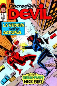 Cover Thumbnail for L'Incredibile Devil (Editoriale Corno, 1970 series) #82