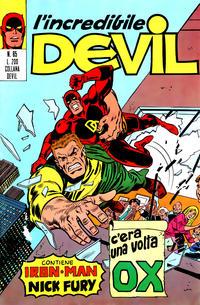 Cover Thumbnail for L'Incredibile Devil (Editoriale Corno, 1970 series) #85