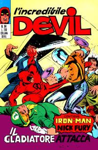 Cover Thumbnail for L'Incredibile Devil (Editoriale Corno, 1970 series) #84