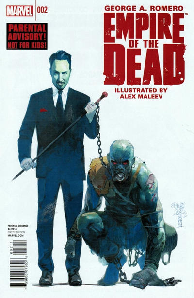 Cover for George Romero's Empire of the Dead (Marvel, 2014 series) #2