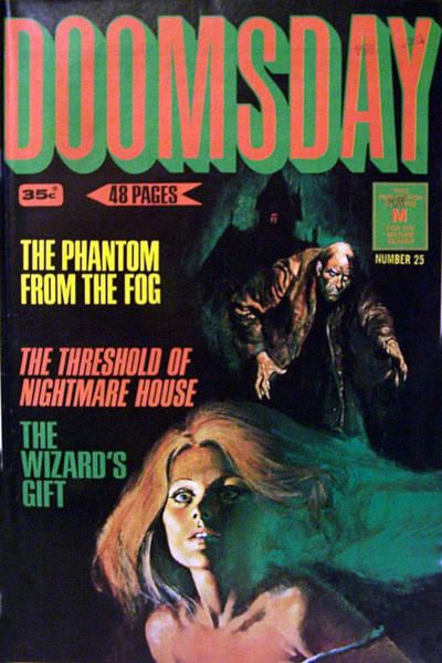 Cover for Doomsday (K. G. Murray, 1972 series) #25