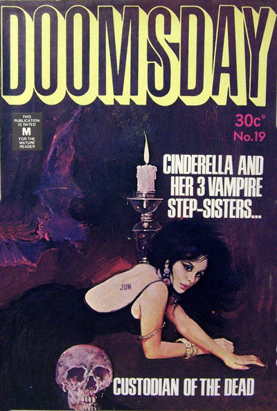 Cover for Doomsday (K. G. Murray, 1972 series) #19