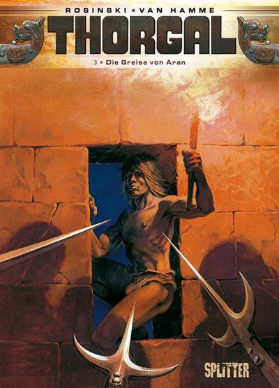 Cover for Thorgal (Splitter Verlag, 2011 series) #3 - Die Greise von Aran