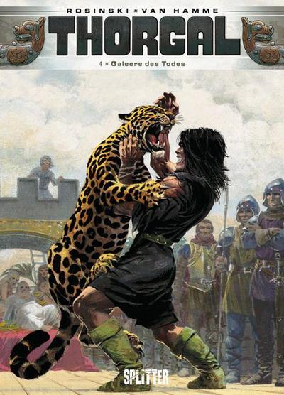 Cover for Thorgal (Splitter Verlag, 2011 series) #4 - Galeere des Todes