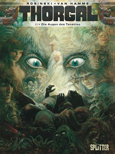 Cover for Thorgal (Splitter Verlag, 2011 series) #11 - Die Augen des Tanatloc