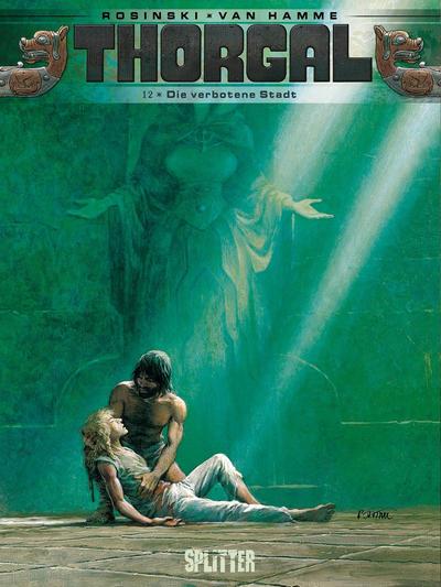 Cover for Thorgal (Splitter Verlag, 2011 series) #12 - Die verbotene Stadt