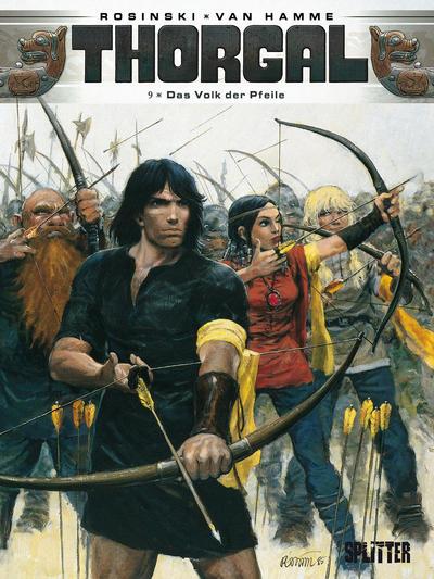 Cover for Thorgal (Splitter Verlag, 2011 series) #9 - Das Volk der Pfeile