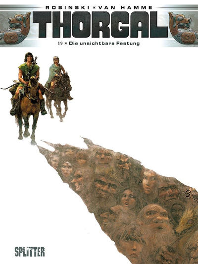 Cover for Thorgal (Splitter Verlag, 2011 series) #19 - Die unsichtbare Festung