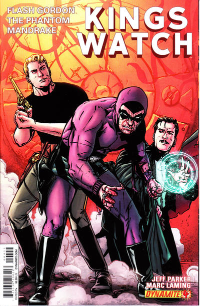 Cover for Kings Watch (Dynamite Entertainment, 2013 series) #4 [Exclusive Subscription Cover]