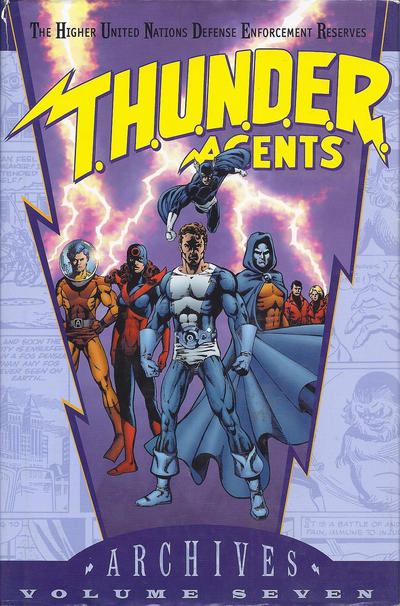 Cover for T.H.U.N.D.E.R. Agents Archives (DC, 2002 series) #7