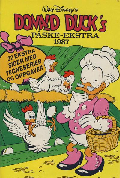Cover for Donald Duck & Co Ekstra [Bilag til Donald Duck & Co] (Hjemmet / Egmont, 1985 series) #påske 1987