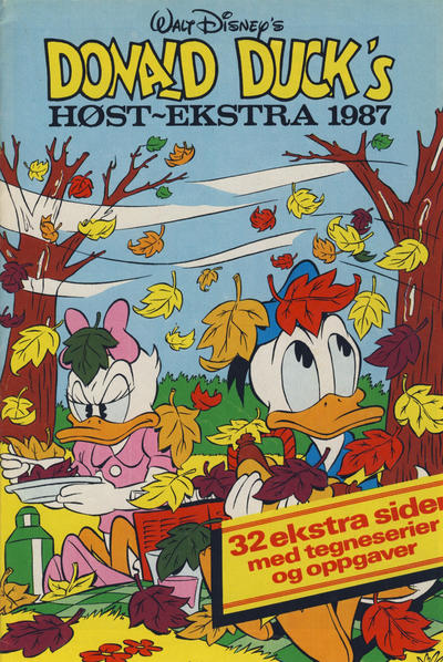 Cover for Donald Duck & Co Ekstra [Bilag til Donald Duck & Co] (Hjemmet / Egmont, 1985 series) #høst 1987