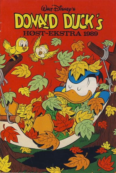 Cover for Donald Duck & Co Ekstra [Bilag til Donald Duck & Co] (Hjemmet / Egmont, 1985 series) #høst 1989