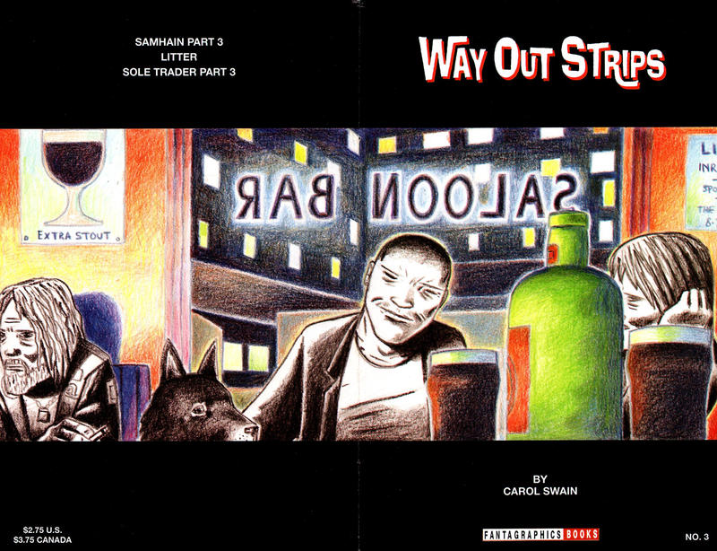 Cover for Way Out Strips (Fantagraphics, 1994 series) #3