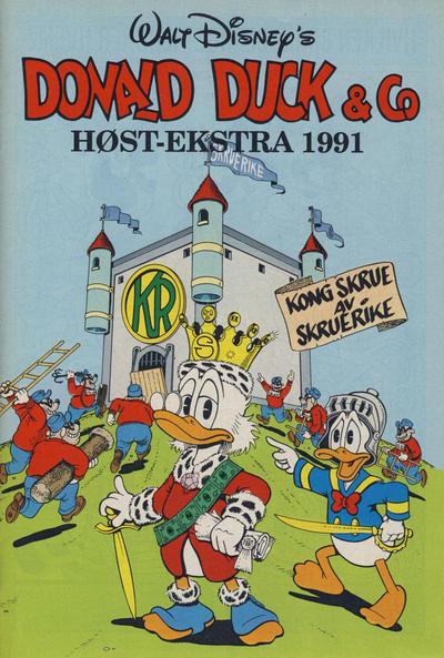 Cover for Donald Duck & Co Ekstra [Bilag til Donald Duck & Co] (Hjemmet / Egmont, 1985 series) #høst 1991