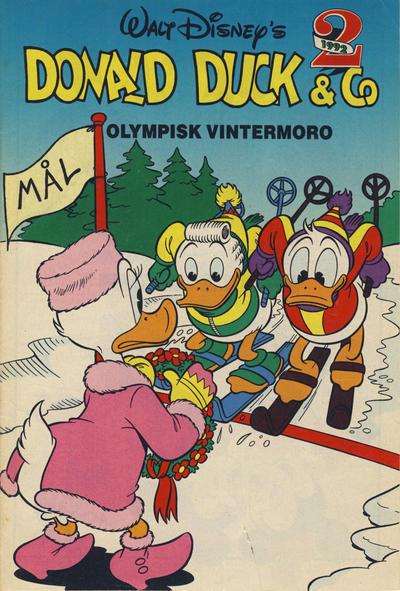 Cover for Donald Duck & Co Ekstra [Bilag til Donald Duck & Co] (Hjemmet / Egmont, 1985 series) #2/1992