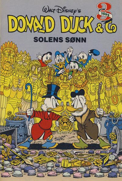 Cover for Donald Duck & Co Ekstra [Bilag til Donald Duck & Co] (Hjemmet / Egmont, 1985 series) #3/1992