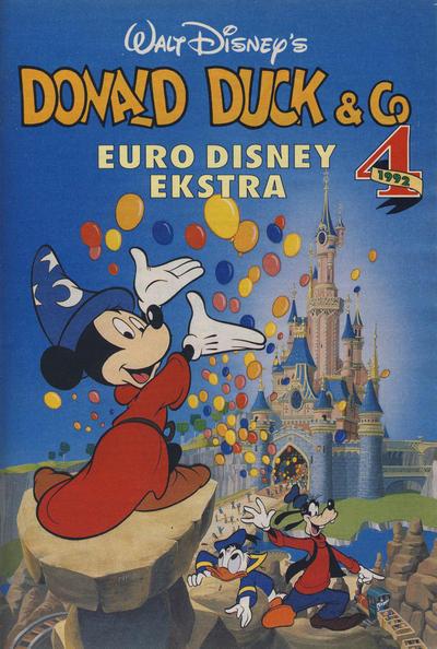 Cover for Donald Duck & Co Ekstra [Bilag til Donald Duck & Co] (Hjemmet / Egmont, 1985 series) #4/1992