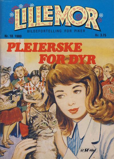 Cover for Lillemor (Serieforlaget / Se-Bladene / Stabenfeldt, 1969 series) #18/1980