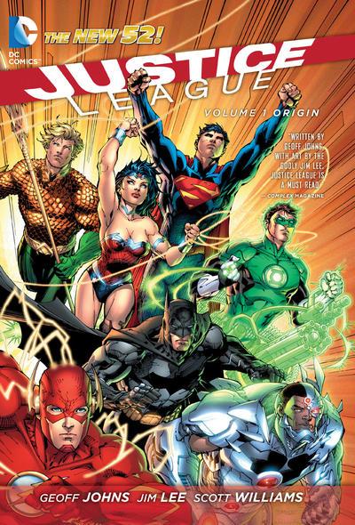 Cover for Justice League (DC, 2012 series) #1 - Origin