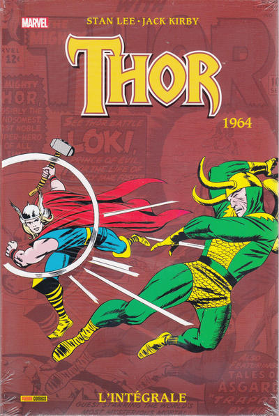 Cover for Thor : l'intégrale (Panini France, 2007 series) #1964