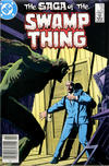 Cover Thumbnail for The Saga of Swamp Thing (1982 series) #21 [Newsstand]