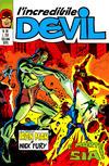 Cover for L'Incredibile Devil (Editoriale Corno, 1970 series) #98