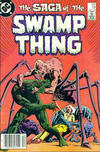 Cover for The Saga of Swamp Thing (DC, 1982 series) #19 [Newsstand]
