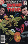 Cover Thumbnail for The Saga of Swamp Thing (1982 series) #16 [Newsstand]