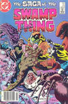 Cover Thumbnail for The Saga of Swamp Thing (1982 series) #22 [newsstand]