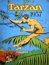Cover for Tarzan julehefte (Hjemmet / Egmont, 1947 series) #1957