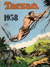 Cover for Tarzan julehefte (Hjemmet / Egmont, 1947 series) #1958