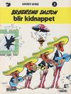 Cover for Lucky Luke (Semic, 1977 series) #3 - Brødrene Dalton blir kidnappet [3. opplag]