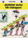 Cover for Lucky Luke (Semic, 1977 series) #3 - Brødrene Dalton blir kidnappet [4. opplag]