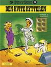 Cover for Lucky Luke (Semic, 1977 series) #13 - Den hvite rytteren [2. opplag]