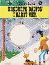 Cover for Lucky Luke (Semic, 1977 series) #14 - Brødrene Dalton i hardt vær [2. opplag]