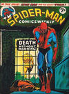 Cover for Spider-Man Comics Weekly (Marvel UK, 1973 series) #91