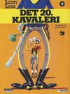 Cover for Lucky Luke (Semic, 1977 series) #16 - Det 20. kavaleri [3. opplag]