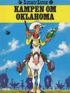Cover for Lucky Luke (Semic, 1977 series) #17 - Kampen om Oklahoma [2. opplag]
