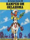 Cover for Lucky Luke (Semic, 1977 series) #17 - Kampen om Oklahoma [3. opplag]