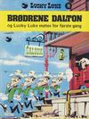 Cover for Lucky Luke (Semic, 1977 series) #19 - Brødrene Dalton og Lucky Luke møtes for første gang [2. opplag]
