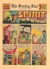 Cover for The Spirit (Register and Tribune Syndicate, 1940 series) #6/2/1940 [The Sunday Star]