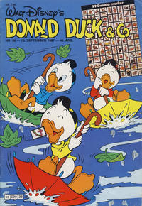 Cover Thumbnail for Donald Duck & Co (Hjemmet / Egmont, 1948 series) #38/1987