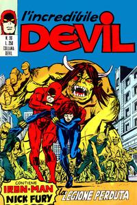Cover Thumbnail for L'Incredibile Devil (Editoriale Corno, 1970 series) #96