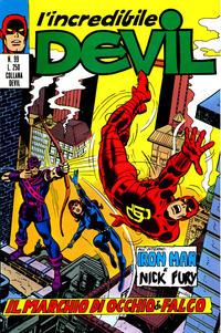 Cover Thumbnail for L'Incredibile Devil (Editoriale Corno, 1970 series) #99